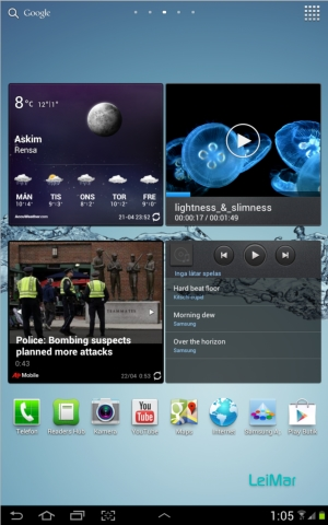 ICS for Samsung Tab 7.7